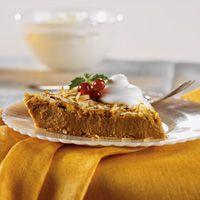 Praline Pumpkin Pie (Net Carbs 5g)