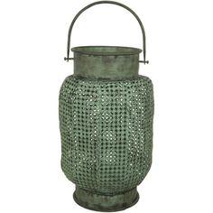 Perforated Wrought Iron Lantern