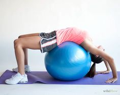 Warm up With an Exercise Ball