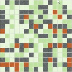 I Love Color Collection: Garden Party Glass Mosaic Tile Blend, sold by the sheet.