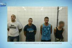 Grupo estaria se reunindo para brigar com gangues rivais nesta terça-feira (3) Fonte: Neonazistas são presos em estação do Metrô de São Paulo – Notícias – R7 São Paulo