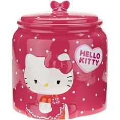 Hello Kitty Cookie Jar i own this. . . I luv it