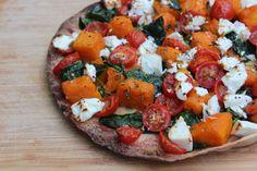 Carmelised Pumpkin and Feta Pizza