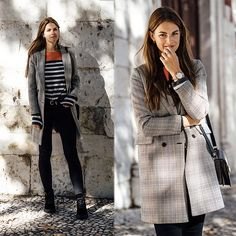 Get this look: http://lb.nu/look/8920329  More looks by Jacky: http://lb.nu/whaelse  Items in this look:  Zara Coat, Lee Jeans, Calvin Klein Boots   #casual #minimal #street #plaid #chic #blackboots #velvet #whaelse #modeblog