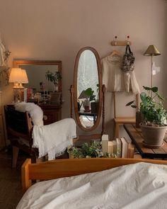 Room Design Bedroom, Room Ideas Bedroom, Bedroom Decor, Room Ideias, Aesthetic Room Decor, Cozy Room, Dream Rooms, My New Room, House Rooms