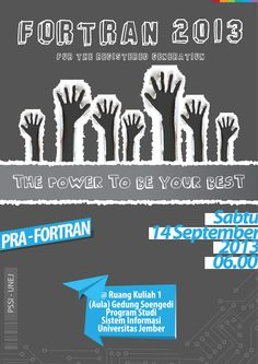 FORTRAN 2013 - THE POWER TO BE YOUR BEST