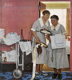 Original Norman Rockwell Paintings | Norman Rockwell's Just Married