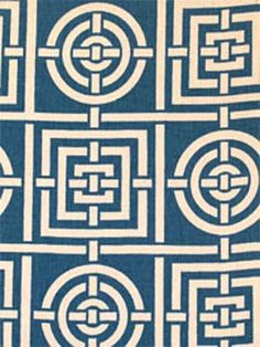 Circles & Squares from Florence Broadhurst