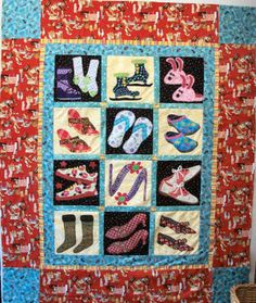 Another shoe quilt