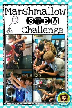 The Marshmallow Challenge is a fantastic introductory STEM challenge that allows students to start critically thinking and working collaboratively. Perfect for those days before or after a break! Includes a corresponding presentation to help facilitate the activity plus a lab sheet to encourage students to brainstorm and create their spaghetti and marshmallow structure. #STEM