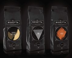 The perfect balance between classic art deco and modern. Stylish specialty coffee packaging.
