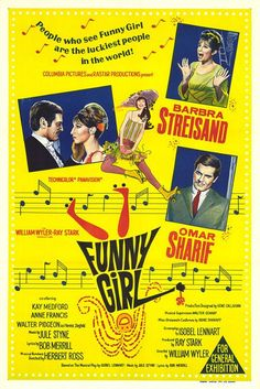 Funny Girl (1968)  Barbra Streisand - Best Actress Oscar 1968
