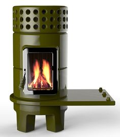 Cb 1210 Grizzly Cubic Mini Wood Stove Contemporary Interiors Pinterest Stove