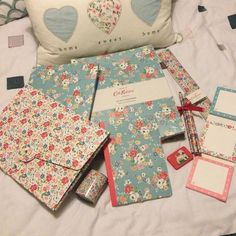 Ready for Uni, College or school...Cool Cath Kidston Stationary.