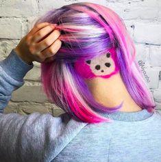 21 Colourful Undercut Hair Designs for Women > CherryCherryBeauty.com