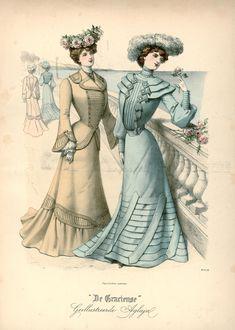 Gracieuse. Geïllustreerde Aglaja, 1902, aflevering 14, pagina 112/1