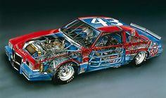 Finding Vintage Cars That Are For Sale - Popular Vintage Nascar Race Cars, Old Race Cars, Vintage Racing, Vintage Cars, Dodge Charger Daytona, Richard Petty, Plastic Model Cars, Pontiac Grand Prix, Drag Racing