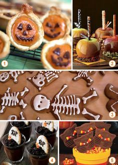 spooky sweets