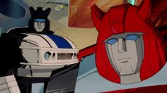 Transformers G1 Jazz and Cliffjumper