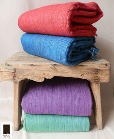 Winter wool throws