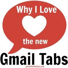 Why I Love the new Gmail Tabs #InboxZero