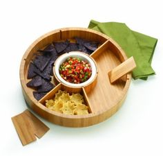 Amazon.com: Anchor Home Collection Bamboo 14-Inch Lazy Susan: Kitchen & Dining