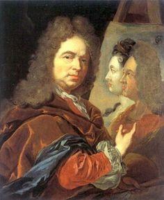 Self-Portrait, ca. 1715 (Jan Frans van Douven) (1656-1727) Museum Kunstpalast, Düsseldorf