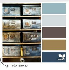 brown-blue Love these colors! I have decorated my entire house in them and Jenni Mote loves me for that!