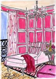 Pink Glamour... ooh la la!