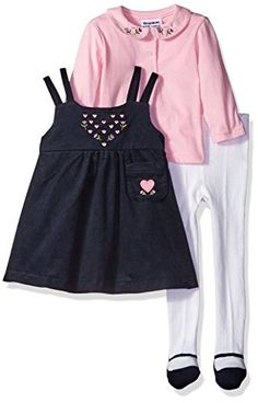 f81f98d2a8 Blueberi Boulevard Girls Corduroy Jumper Set NavyPink Multi 18 Months --  Details can be found by clicking on the image.Note It is affiliate link to  Amazon.