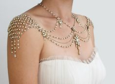 Shoulders Necklace- NEW!