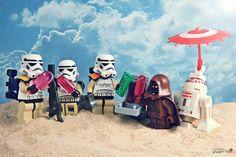 Star Wars Lego Photography.