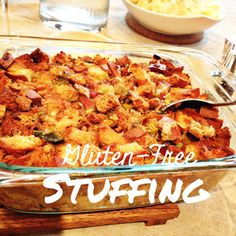 Recipe: Gluten Free Stuffing (And a Giveaway!)