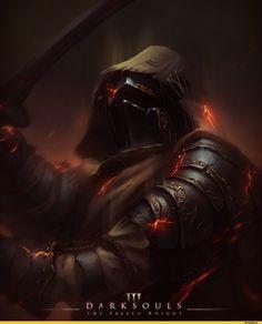 Fallen knight dark soul 3