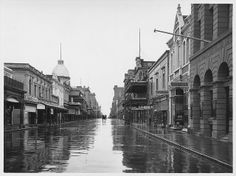 Rundle Street, 1924 by State Library of South Australia Adelaide South Australia, Western Australia, Australia Travel, City Of Adelaide, Melbourne Suburbs, Vintage Architecture, City Scene, Local History, Tasmania