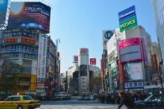 Shibuya is known around the world for its scramble intersection. When the crosswalk signal turns green, the es...