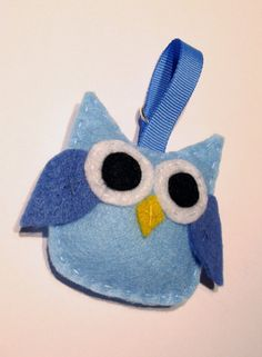 Felt Owl Idea via ETSY Felt Projects, Diy Projects, Owl Patterns, Baby Owls, Diy Tutorial, Felting, Babyshower, Shower Ideas, Coin Purse