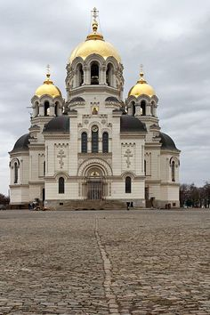 Novocherkassk Ascension Cathedral, the symbol of faith of Don Cossacks, erected in the 19th century