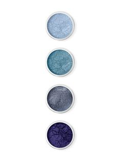 Jewelled Sky - Blue Eyes Set (0.08 OZ) by Terre Mere Cosmetics at Gilt  #cosmetics #beautyinthebag