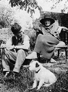 Virginia Woolf with Leonard in 1926 (as photographed by Vita Sackville