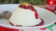 Kitchen Stories: Cheese Mousse with Lingonberries