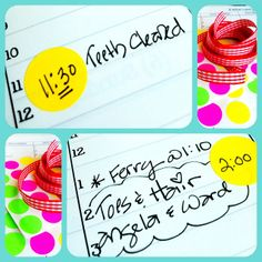 Color coding your planner. Great idea!