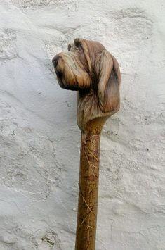 69 Ideas for diy wood carving walking sticks Handmade Walking Sticks, Hand Carved Walking Sticks, Walking Sticks And Canes, Wooden Walking Sticks, Walking Canes, Abstract Sculpture, Wood Sculpture, Metal Sculptures, Bronze Sculpture