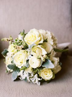 new-orleans-french-quarter-wedding-yellow-white-green-rose-ranunculous-bouquet