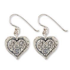Earrings - Sweet Heart Earrings - Arhaus Jewels