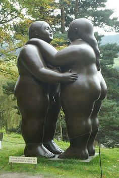 Fernando Botero: Dancers. by mike t-d, via Flickr