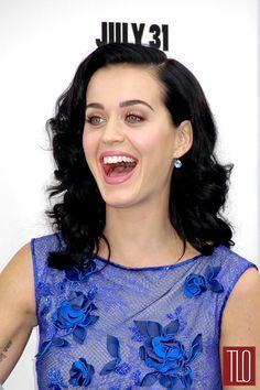 "Chiaroscuro / Katy Perry in Tadashi Shoji at the ""Smurfs 2″ Premiere | Tom & Lorenzo"