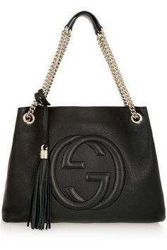 Soho medium textured-leather shoulder bag #accessories #women #covetme #gucci