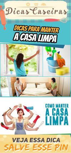 Dicas para manter a casa limpa #dicas #limpeza #casa