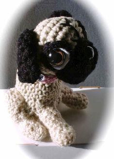crochet pug pup 5